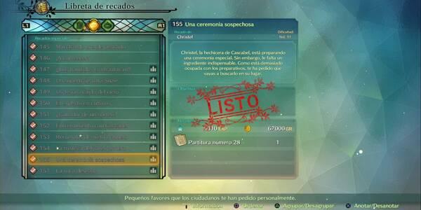 Recado Especial 155 - Una ceremonia caprichosa en Ni No Kuni 2: El renacer de un reino