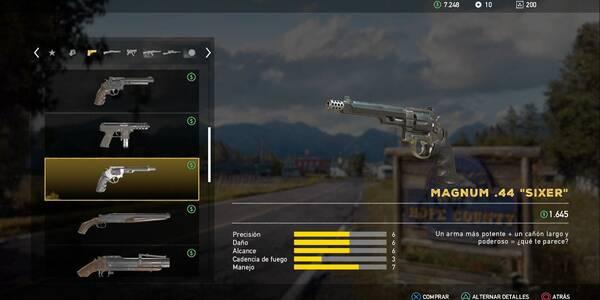 Todas las armas en Far Cry 5 y cómo conseguirlas