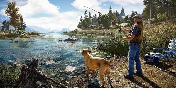 Pesca: cañas de pescar, peces y dónde encontrarlos en Far Cry 5