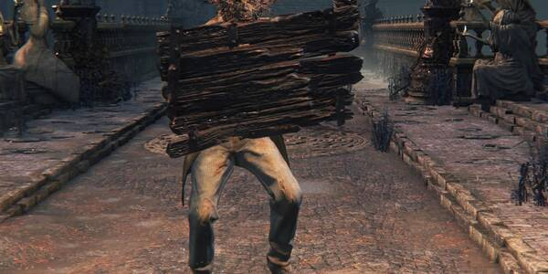 Escudo de madera - Bloodborne