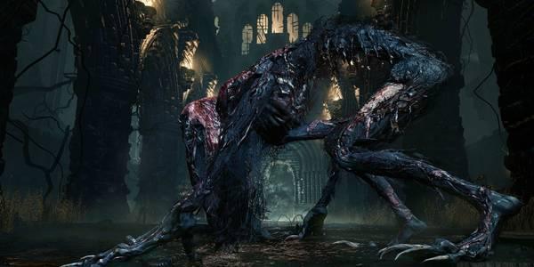Bestia sedienta de sangre en Bloodborne - Cómo matarla y recompensas