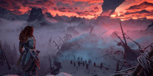 Cómo empezar el DLC de Horizon Zero Dawn - The Frozen Wilds