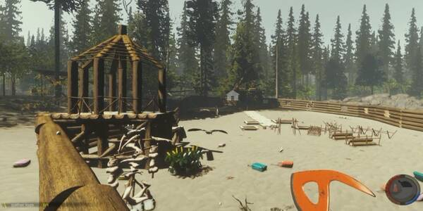 Cómo construir la base / refugio en The Forest para PC y PS4