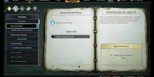Asuntos de familia en God of War (PS4)
