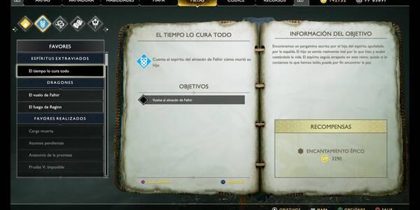 El tiempo lo cura todo en God of War (PS4)