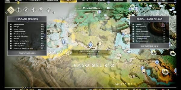 Paso del río en God of War PS4: TODOS los coleccionables y secretos