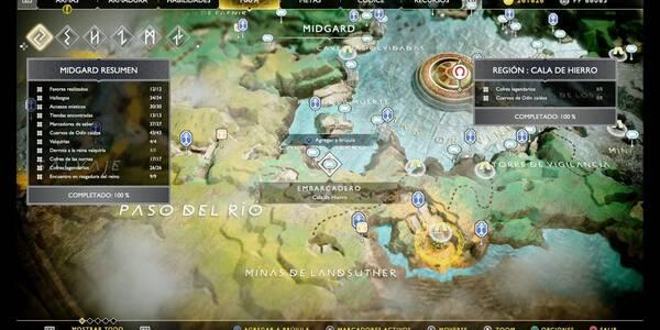 Cala de hierro en God of War (PS4): TODOS los coleccionables y secretos