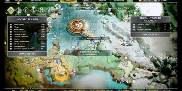 Torre de vigilancia en God of War (PS4): TODOS los coleccionables y secretos