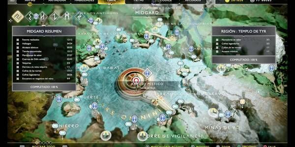 Templo de Tyr en God of War (PS4): TODOS los coleccionables y secretos