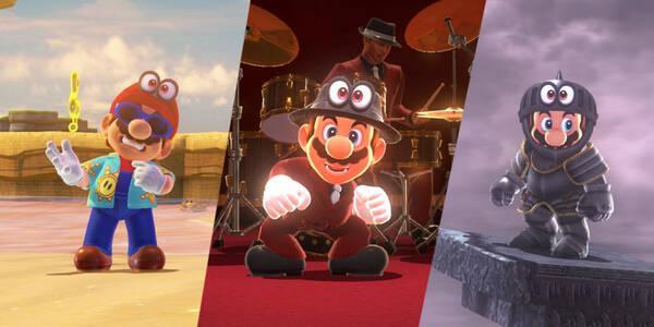 Nuevos trajes en Super Mario Odyssey y cómo conseguirlos