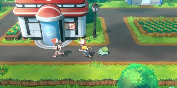 Jugar en Multijugador / Cooperativo (2 jugadores) en Pokémon Let's Go