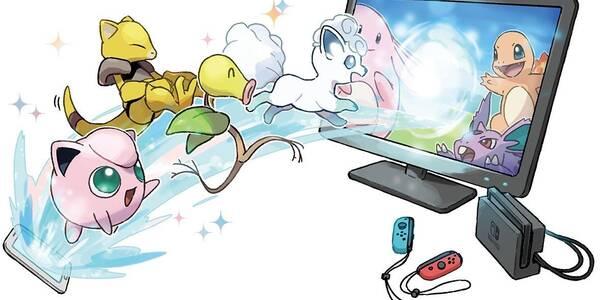 Cómo conectar Pokémon Go con Pokémon Let's Go! en Switch