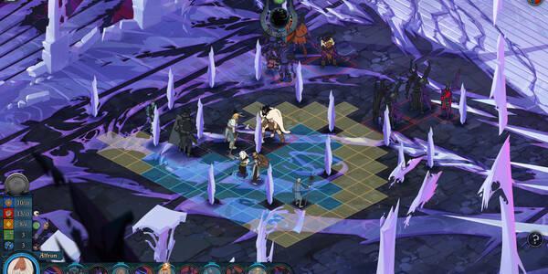 Todos sobre las Batallas por oleadas de The Banner Saga 3