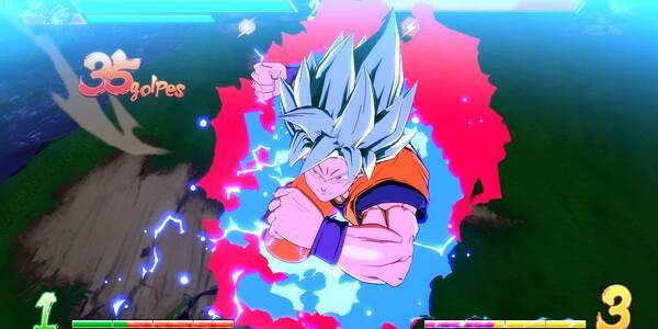 Consejos para luchar con Goku SSB en Dragon Ball FighterZ