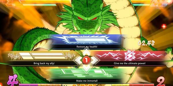 Cómo reunir las bolas e invocar a Shenron en Dragon Ball FighterZ