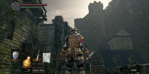 Burgo de los no muertos en Dark Souls Remastered al 100%