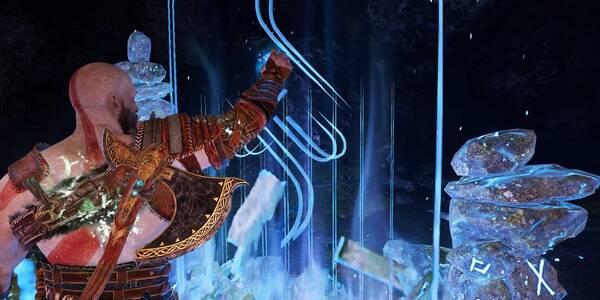 Viajar rápido entre portales en God of War (PS4)