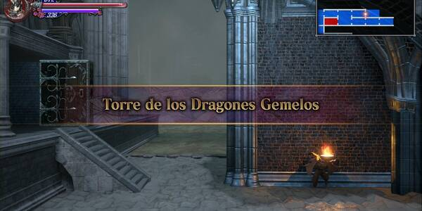 Torre de los Dragones Gemelos al 100% en Bloodstained: Ritual of the night