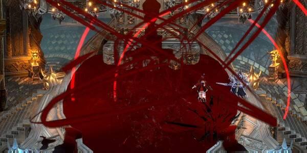 Bloodstained: Ritual of the night - vaciando la fuente de sangre