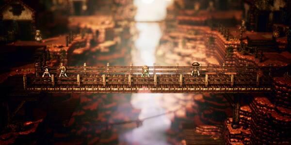 Capítulo 4 - Alfyn en Octopath Traveler