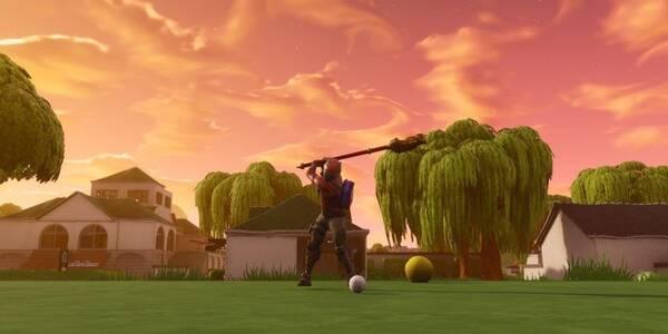 Fortnite: Golpea una pelota de golf del tee al green en distintos hoyos - Solución al desafío