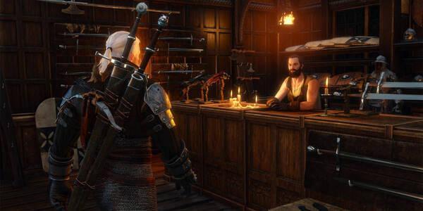 Crafteo de armas en The Witcher 3: Wild Hunt