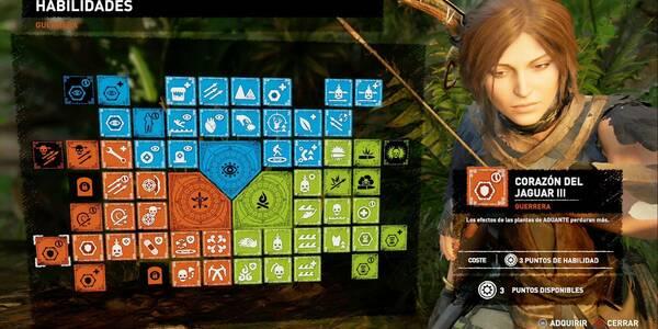 Todas las Habilidades de Shadow of the Tomb Raider