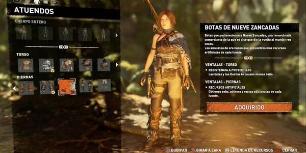 Atuendos ancestrales y cómo conseguirlos en Shadow of the Tomb Raider