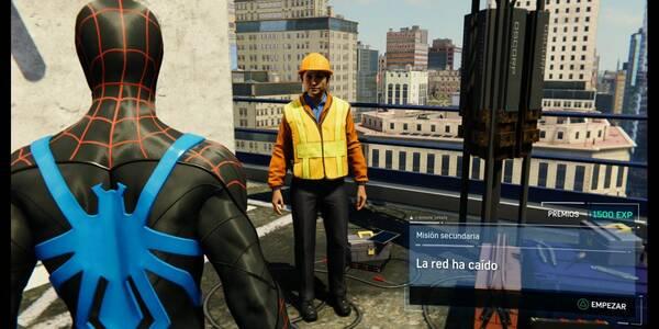 La red ha caído en Spider-Man (PS4): cómo completarla - Misión secundaria