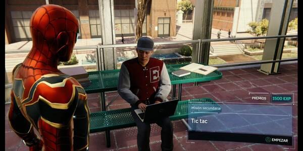 Tic tac en Spider-Man (PS4): cómo completarla - Misión secundaria