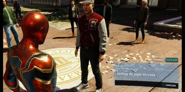 Ventaja de jugar en casa en Spider-Man (PS4): cómo completarla - Misión secundaria