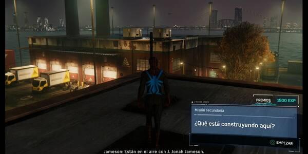 ¿Qué está construyendo aquí? en Spider-Man (PS4): cómo completarla - Misión secundaria