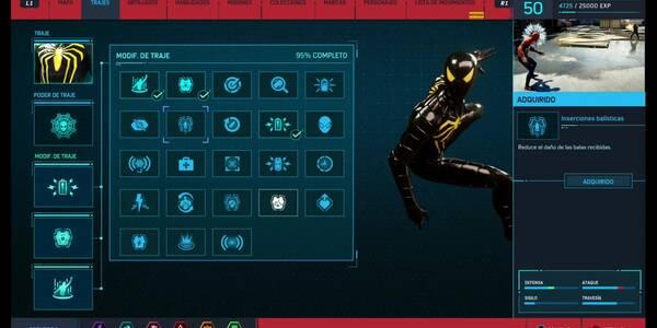 Todos los Modificadores de Traje de Spider-Man (PS4) y cómo conseguirlos