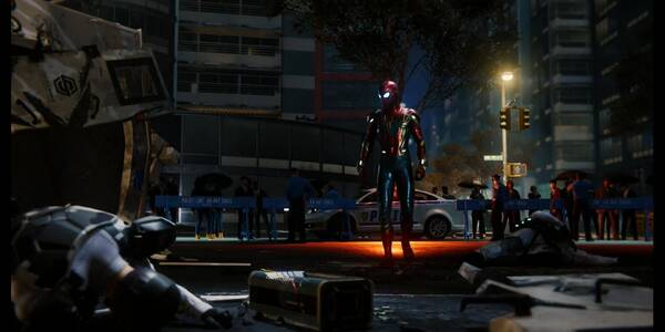 Saltar de la sartén... en Spider-Man (PS4) - Misión principal