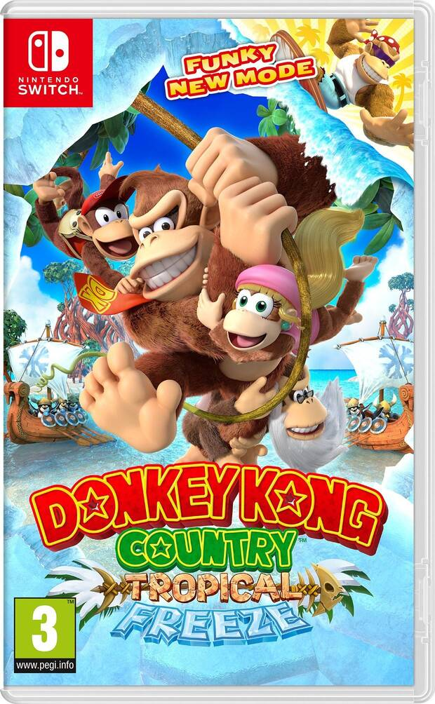 Donkey Kong Country: Tropical Freeze Imagen 1
