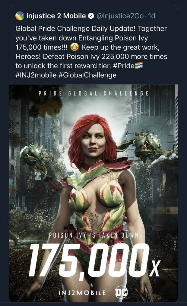 Injustice 2 Mobile apologizes for 'insensitive' event with LGBTQIA + community