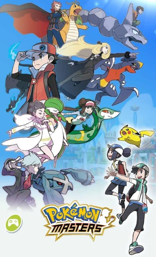 Pokémon Masters - Imagen de portada