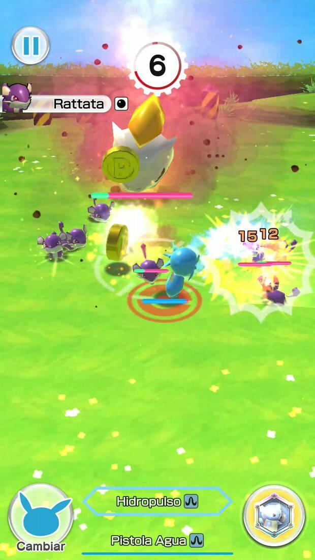 Pokemon Rumble Rush Imagen 1
