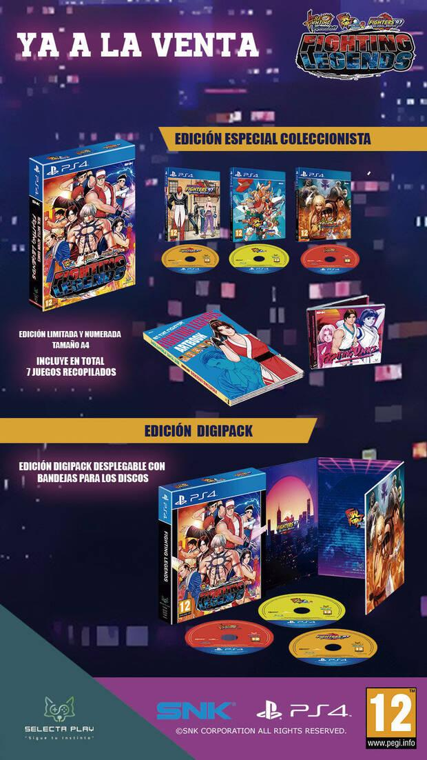 Fighting Legends now on sale