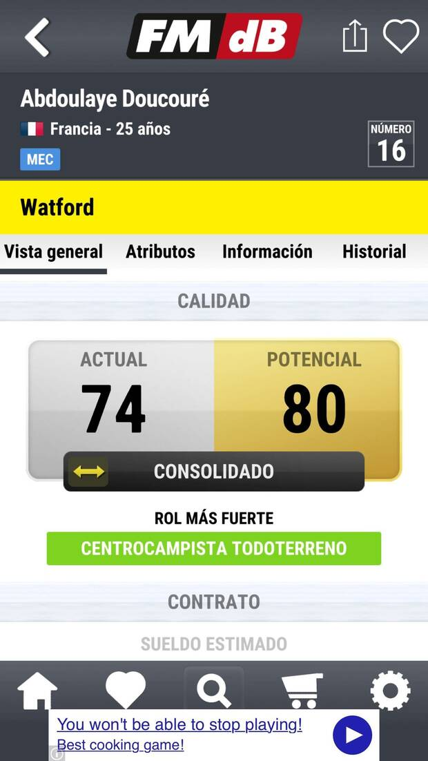 Ya disponible la app Football Manager Database en iOS y Android Imagen 3