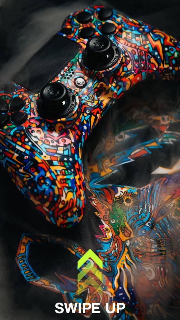 SCUF Impact Pow3r Edition, el mando más artístico para PS4, PC y móvil Imagen 6
