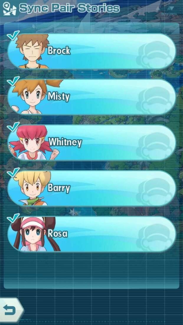 Pokémon Masters - Misiones secundarias