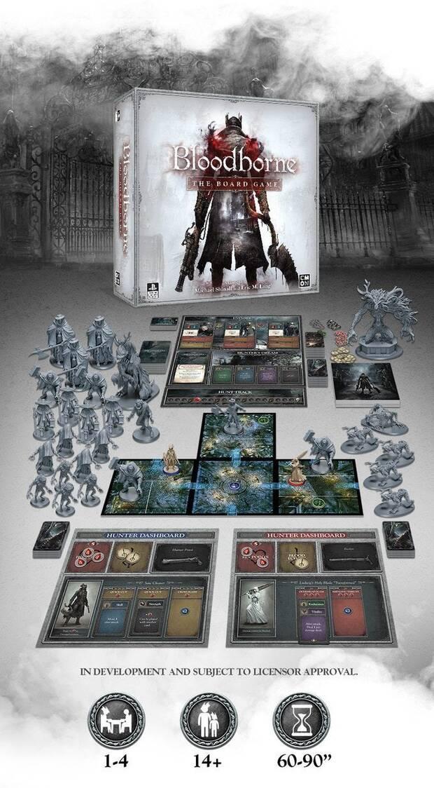 El juego de mesa de Bloodborne consigue su financiación en minutos Imagen 2
