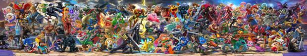 Super Smash Bros Ultimate Plantel de personajes