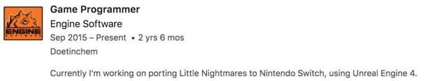 Un programador asegura estar trabajando en Little Nightmares para Switch Imagen 2