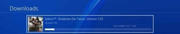 El parche de día 1 de Sekiro: Shadows Die Twice ocupa 3,67 GB Imagen 2