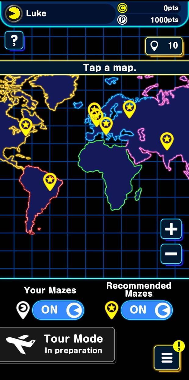 Pac-Man Geo convierte el mundo real en un enorme laberinto para Android y iPhone Imagen 3