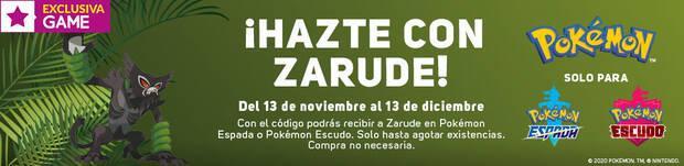 Evento de Zarude para Pok