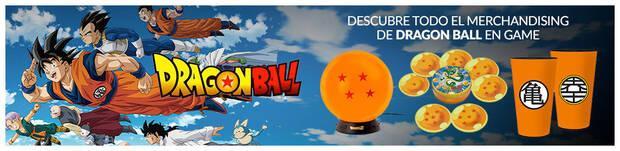 Merchandising de Dragon Ball en GAME.