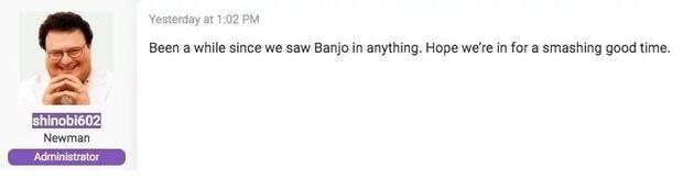 Rumor: Banjo-Kazooie podría llegar a Super Smash Bros. Ultimate Imagen 2